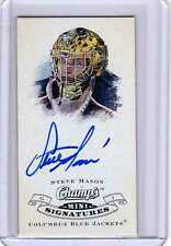 STEVE MASON 08/09 CHAMPS Mini Auto Autograph SP Signed Signature Hard-Signed #SM