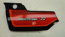 1984 Honda Nighthawk S CB700SC CB700 H741' left side cover trim body panel #2