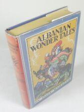 Albanian Wonder Tales By Post Wheeler (1936) HCDJ