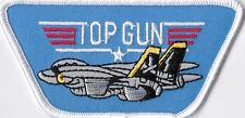 U.S. NAVY - TOP GUN -  IRON / SEW ON PATCH