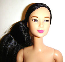 Nude Barbie Articulated Ultimate Posable Asian Barbie Doll For Ooak bn422