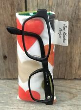 Glasses Case,Glasses Pouch,Spectacles Case In Orange Hearts Oilcloth