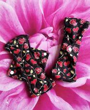 Hearts washable cloth sanitary pad x 2, starter set, regular, menstrual pads