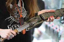 "NEW !PREMIUM Russian COMBAT SURVIVAL BIG KNIFE ""SURVIVALIST X"" Molle! Walnut"