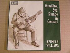 KENETH WILLIAMS Rambling Sid Rumpo In Concert Ex EMI UK '67 P/S EP