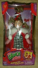 DISNEY Dr Seuss How the Grinch Stole Christmas Whobilation Hair Cindy Lou DOLL