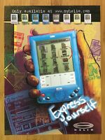 2000 VTech Helio Personal Digital Assisistant PDA Print Ad/Poster Vintage Art