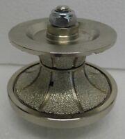 V40 40mm FULL Bullnose Diamond Profile Router Bit Stone Granite Marble M14