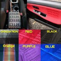 5 Color JDM Bride Fabric Car Seat Door Panel Armrest Interior Decor Cloth DIY