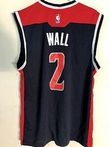 Adidas NBA Jersey Washington Wizards John Wall Navy sz XL