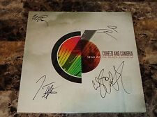 Coheed And Cambria Signed Limited Edition Vinyl Year Of The Black Rainbow RARE