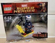LEGO Iron Man 3 Patriot Minifigure 30168 MARVEL Superheroes Polybag NEW SEALED