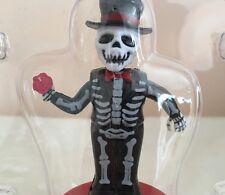 Dia de los Muertos Skeleton Solar Bobble Head Day of The Dead Groom Love Wedding