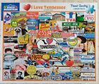 White Mountain I LOVE TENNESSEE 1466 Jigsaw Puzzle 1000p 24x30 Girard Collage