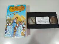 Moises el Principe de Egipto Animacion - VHS Cinta Tape