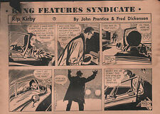 RIP KIRBY by Prentice / Dickensen 60 strips als PROOFS 6.1. - 14.3.1964