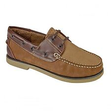 Gents Leather Boat Shoes Nubuck & Smooth Mens Smart Casual Deck Moccasins
