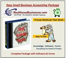 Small Business Accounting Program written in Excel