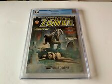 """TALES OF THE ZOMBIE 2 CGC 9.4 """"INTRODUCING BROTHER VOODOO"""" MARVEL MAGAZINE 1973"""