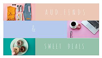 Aud. Finds & Sweet Deals