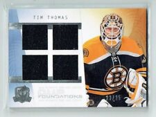 09-10 UD The Cup Foundations  Tim Thomas  /25  Quad Jersey