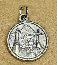 COOL Pope John Paul II Joannes Paulus Sterling silver 925 charm Jewelry