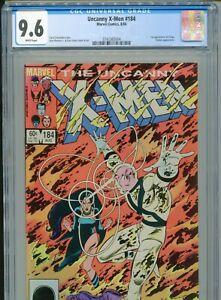1984 MARVEL UNCANNY X-MEN #184 CLAREMONT ROMITA JR. 1ST APPEARANCE FORGE CGC 9.6
