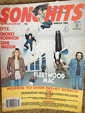 Song Hits Magazine 3/80 Fleetwood Mac Styx Smokey Robinson Gene Watson