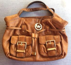 Michael Kors Womens Brown Leather Handbag