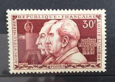 Timbre France 1955 neuf**. YT 1033. Frères Lumière