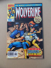 wolverine 118 . Zero Tolerance . Marvel 1997 . VF