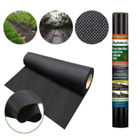 Agfabric Landscape 4x100ft Ground Cover Heavy Non-Woven Weed Barrier Garden Mat