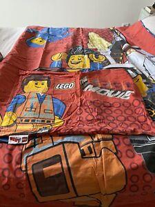 NEXT Lego Movie  Reversible Single Bedset Duvet Cover & Pillowcase 100% cotton