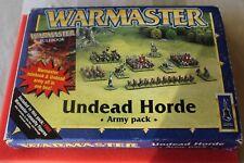 Warmaster horda ejército de no-muertos en Caja 10 mm Games Workshop Lot figuras de metal fuera GW