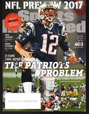 2017 Sports Illustrated New England Patriots Tom Brady Subscription Issue Exc