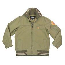 JEEP Jungen Jacke GR.152 Jeansjacke khaki Übergangsjacke Jacket Kinder wie NEU