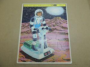 Vintage 1968 Mattel Major Matt Mason Frame Tray Puzzle Toy 100% Complete Astrona