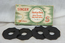 New listing Vintage Singer Fashion Discs Set #3 For Auto Swing-Needle Machine 306 Ex