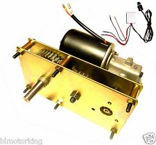 Variable Speed 12V DC 5RPM Conveyor and BBQ Hog Pig Rotisserie Smoker Spit Motor
