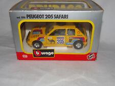 Bburago Peugeot 205 Safari Nr.0116 - Burago 1:25 - unbespielt