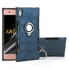 For Sony XZ1/XA1 Ultra/Xperia L1 Magnetic Slim Ring Holder Stand Case Back Cover