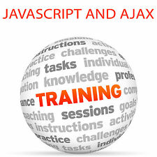 JAVASCRIPT AND AJAX - Video Training Tutorial DVD