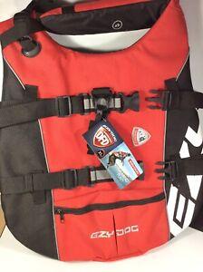 EZY Dog SeaDog Life Jacket Red Flotation Device Vest Size XL