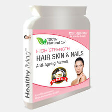 Hair Skin & Nails Capsules, Collagen and Vitamin A, C, E and Zinc