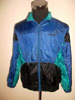 vintage 80`s ADIDAS Nylon Jacke Sportjacke jacket glanz shiny oldschool D5 M/L
