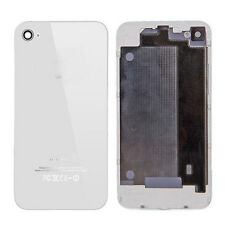 White Housing Rear Door Case Battery Back Cover Replacement Parts for iPhone 4S