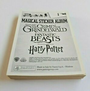 Panini The Crimes Of Grindelwald Stickers Multi Listing Choose From List 2018