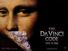 THE DA VINCI CODE Movie POSTER 30x40 Tom Hanks Ian McKellen Alfred Molina Jean