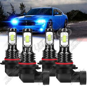 For Dodge Journey 2010 2011 2012-2017 LED Headlight High&Low Beam Kit Bulbs 4pcs