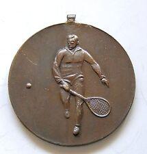 g029 Romania 1930's Man Tennis Contest Sports winner prize bronze medal